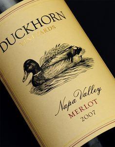 "Duckhorn Wine Company | Package Design by CF Napa as featured in ""99 Bottles of Wine"" www.99bottlesofwine.com"