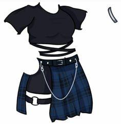 Fashion design sketches 584060645413725200 - Iiuu Source by eva_urrutia Dress Design Sketches, Fashion Design Drawings, Fashion Sketches, Manga Clothes, Drawing Anime Clothes, Anime Outfits, Cute Outfits, Fashion Outfits, Male Fashion