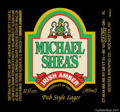 Michael Shea's - Irish Amber (Genesee Brewing)