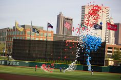 Opening Day 2012 for the Columbus Clippers at Huntington Park. Photo by @PhotogBlake