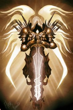 Archangel Tyrael, Diablo 3 character. My copy of the original. All rights belong…