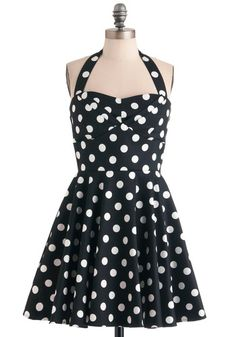 Traveling Cupcake Truck Dress in Black, 50's style #ModCloth~L