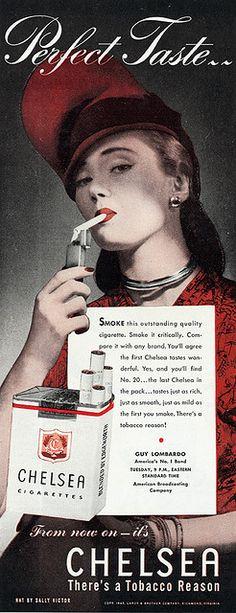 Chelsea Cigarettes 1945