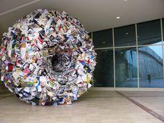 Bookhouse http://www.tripartadvisor.it/bookhouse-la-forma-del-libro-diventa-arte-a-catanzaro/