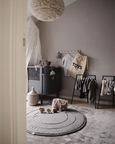 In collaboration with You are so often asked about the viscose mat in Minis' room, and it comes from Confident Living.