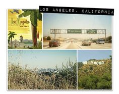 Los Angeles - photo collage