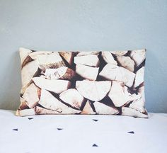 Slumber On Lumber Photography Pillow Cover