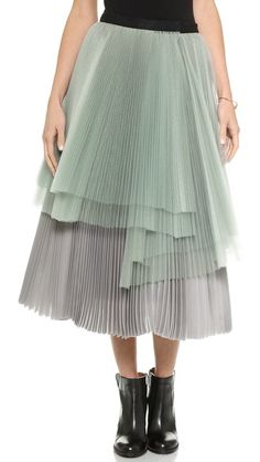 Marc by Marc Jacobs Mayu Organdy Petticoat Skirt
