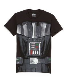 This Darth Vader Outfit Tee - Men by Fifth Sun is perfect! #zulilyfinds