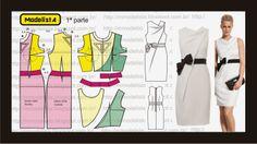 vestido cowl
