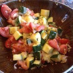 Zucchini Caprese Allrecipes.com