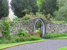 cleverly designed archway