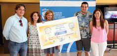 La Asoc. Nacional de Esclerosis Tuberosa ha sido la entidad beneficiada por el cheque de 11.500 euros recaudados durante la carrera solidaria Correcaminos.