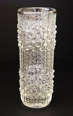 Sklo Union Glass Candlewax Vase by Frantisek Peceny