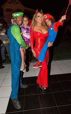 Mariah Carey and Nick Cannon's Twins Are Best Dressed at Family's Star-Studded Halloween Party   E! News