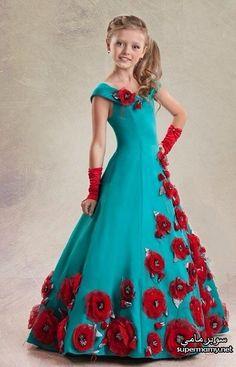 bbea2cc62 فساتين افراح للاطفال سن 5 وحتى 10 سنوات Kids Tutu, Toddler Girl Dresses,  Gowns