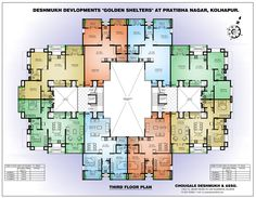 Architectural Designs For Apartments centralliving rectangle floor plan | plans | pinterest