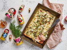Pääsiäislohi | Valio Kermit, Lasagna, Bread, Ethnic Recipes, Brot, Baking, Breads, Buns, Lasagne
