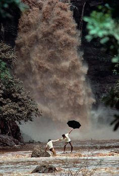 During heavy rains in #Goa, Incredible #India!