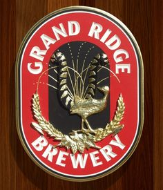 Grand Ridge Brewery Sign | Danthonia Designs