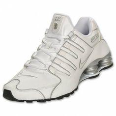 Tênis Nike Shox Men's Shox NZ SL SI Running Shoe White Silver 366363 111 #Tenis #Nike