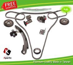 Timing Chain Kit Fits 2004-09 Nissan Altima Maxima Quest 3.5L V6 DOHC 24v VQ35DE #HJL