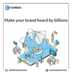#Digitalmarketing isn't just a platform; it has a plethora strings attached to the ways of success. #Coweso strongly believes in maintaining the reputation through online resources. Our clients are improving their recognition consistently with the help of genuine solutions. Be Yourself Quotes, Make It Yourself, Make It Happen, Promote Your Business, App Development, Mobile App, Online Business, The Help, Digital Marketing