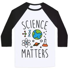 "Science Matters - Get out the puns and show support for the objective reasoning and fact based evidence that is SCIENCE with this ""Science Matters"" cute nerdy design! Perfect for a scientists, steminist, researchers, eco warriors, environmentalists, and fighting for facts!"