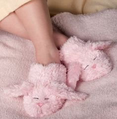 Dream Time Inc Warm Whiskers Small Microwaveable Bunny Slippers with Lavender Bunny Slippers, Cute Slippers, Corsets, Fluffy Socks, Creature Comforts, Everything Pink, Girly Girl, Warm And Cozy, Girly Things