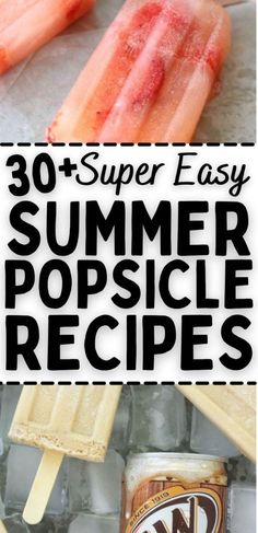 Summer recipes, fresh and easy to make popsicles recipes for hot days in the summer, cool down with these delicious recipes for any occasion during the hot summer days. Summer Lunch Recipes, Summer Snacks, Fun Snacks For Kids, Easy Snacks, Kids Meals, Healthy Popsicle Recipes, Real Food Recipes, Delicious Recipes, Dragon Fruit Popsicle Recipe