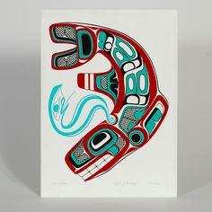 Spirit of the Deep - Nathan Wilson - Acrylic on Paper