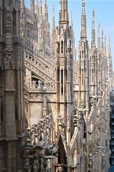 Duomo di Milano. Gothic Architecture. Italia. Italy. Europa. Europe