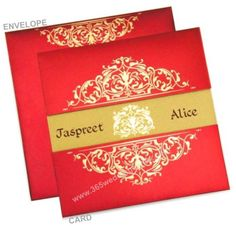 Tips about Selecting Good Paper for Indian Wedding Card