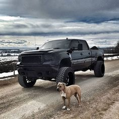 BLACKED OUT DURAMAX