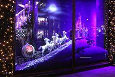 Harrods windows at Knightsbridge, London visual merchandising