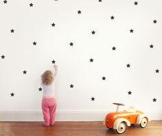 Wandtattoo - Wandtattoo Wandsticker / Sterne - ein Designerstück von Eulenschnitt bei DaWanda