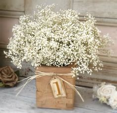 rustic wedding table arrangements - Google Search