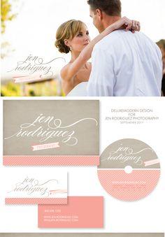 Deluxemodern Design for Jen Rodriguez Photography, September 2011 #logo design  #branding #photography www.deluxemodernd...