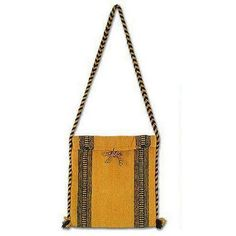 NOVICA Wool shoulder bag ($50) ❤ liked on Polyvore featuring bags, handbags, shoulder bags, accessories, clothing & accessories, yellow, purse tote, handbags totes, woven tote and shoulder tote bags