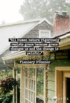 Flannery O'Connor- the most amazing writer in American literature....well to me anyway.