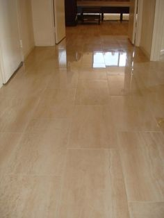 Porcelain Flooring Tile Floor In Hallway