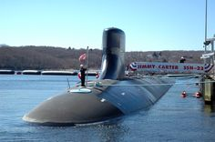 USS Jimmy Carter, SSN-23, Attack submarine, Seawolf class. Commissioned Feb 19, 2005.