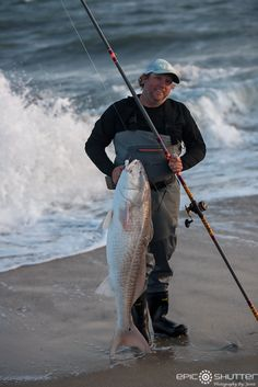 May the point was lined with fisherman catching and releasing Red Drum just before sunset. Surf Fishing, Walleye Fishing, Deep Sea Fishing, Going Fishing, Saltwater Fishing, Fishing Tips, Ice Fishing, Fishing Tackle, Fishing Quotes