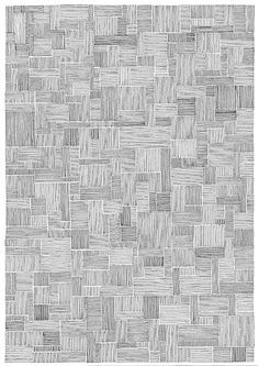 My absent mind: Post - Puzzle Texture Drawing, Line Texture, Floor Texture, 3d Texture, Line Drawing, Geometric Pattern Design, Geometric Art, Pattern Art, Ink Pen Drawings