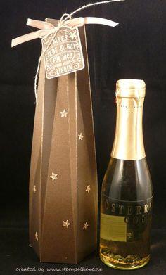 verpackung anleitung stampin flasche stempelhexe