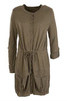 Metalicus clothing Shyla L/S Anorak - Womens Knee Length Dresses - Birdsnest Online Shop