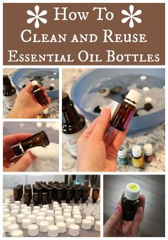How to Clean and Reuse Essential Oil Bottles