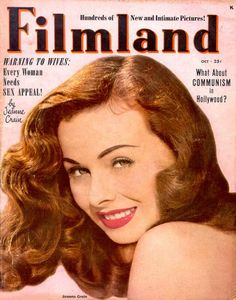 Actress Jeanne Crain ~ on many magazine covers