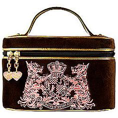Soft Train Case By Juicy Couture Stylish Handbags Fashion Makeup