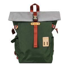 Harvest Label Rolltop   Backpack 2.0   Olive